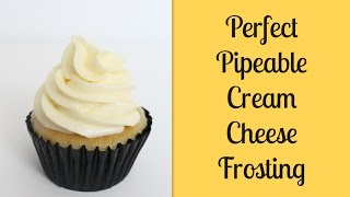 Perfectly Pipeable Cream Cheese Frosting