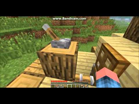 Minecraft - How To Build A Cat House And Tame A Ocelot