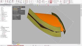 NeoMetrix Geomagic Design X 3D Modeling a Turbine Blade