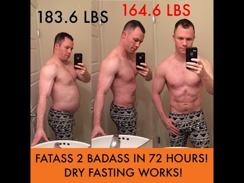 HOW I LOST 19 LBS IN 3 DAYS DRY FASTING!