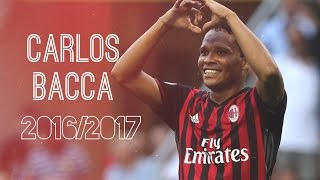 Carlos Bacca | 2016-2017 | AC MILAN | goals and skill | THE KING