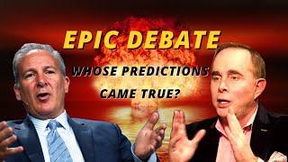 Epic debate featuring faceoff between Peter Schiff and John Mauldin