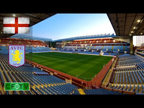 Aston Villa FC Football Stadium - Villa Park