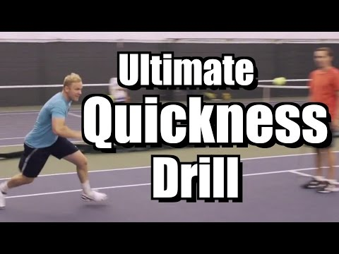 Ultimate Quickness Drill - Tennis Lessons and Instruction - Speed and Reaction Time
