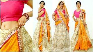5 Dupatta Draping Styles You Must Try - How To Wear Lehenga Perfectly This Wedding Season | Anaysa