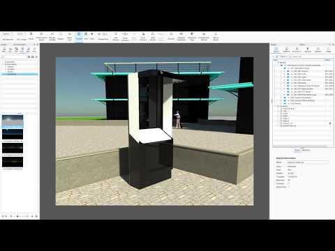 Rhino & KeyShot for Mac - Architectural Exterior Render