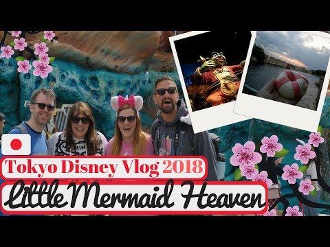 Tokyo Disneyland Vlog May 2018 | Little Mermaid Fan's Dream & Weird Popcorn Flavour | KrispySmore #7