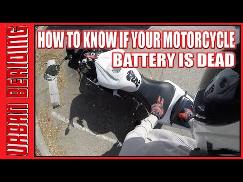 How to Know if Your Motorcycle Battery is Dead