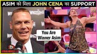 Asim Riaz Gets SUPPORT From WWE Wrestler John Cena | Bigg Boss 13