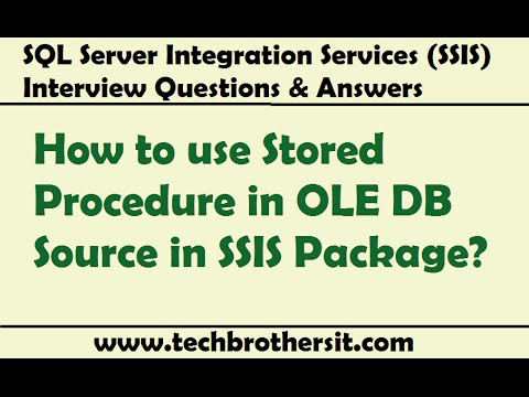 SQL Server Integration Services - How to use Stored