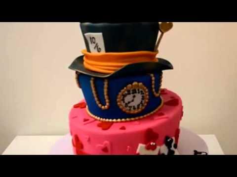 How to make cake Alice and Wonderland cake   Custom Cake birthday cake