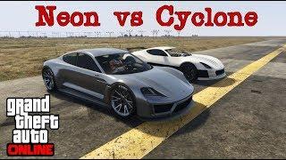 Pfister Neon VS Cyclone    GTA 5 Online