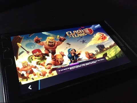 Install Clash of Clans to your BlackBerry 10 Phone (Z10, Z30, Q5, Q10)