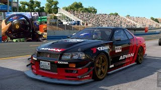 PROJECT CARS 2 PC GoPro 1000hp Lancer VS Jump Drifts! + Group A R32/R34