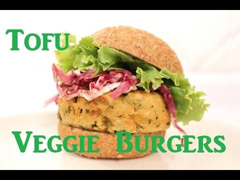 Vegan Tofu Veggie Burger