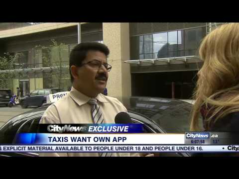 Taxi drivers want own app to compete with Uber