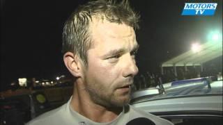 Loeb en colère contre Citroën Racing rallye Grèce 2011