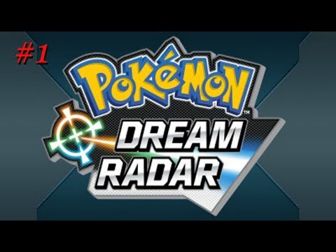 Pokemon Dream Radar with Luc (Part 1) Researching those Mystery Pokemon!
