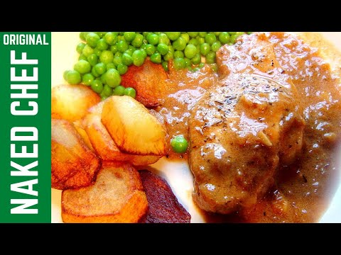 Pork with gravy sauce How to cook recipe