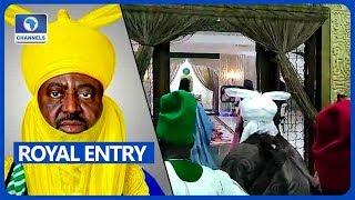 New Emir of Kano, Aminu Ado Bayero Makes Way Into Palace