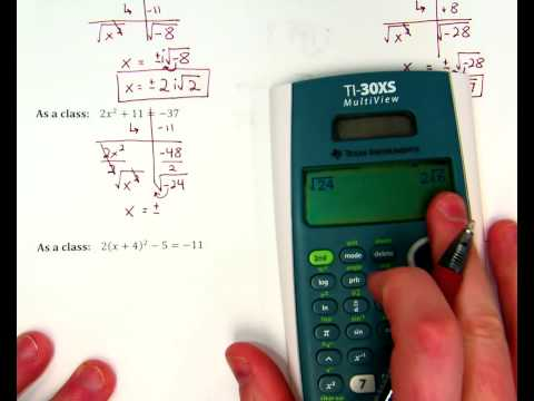 Complex Numbers Notes ex. 2 + one more