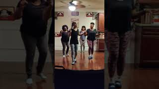 Don't waste my time line dance by That Short Girl aka Shaunta Porter
