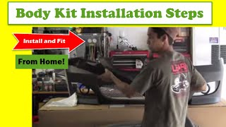Body Kit Installation Steps How To Install Fit Your Body Kit From Home