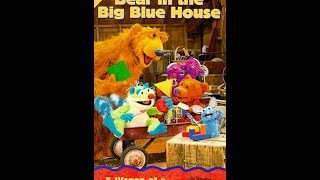 Opening to Bear in the Big Blue House: A Wagon of a Different Color/Shape of a Bear 1998 VHS