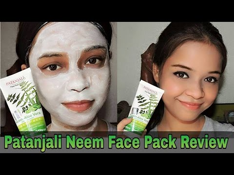 Patanjali Neem Aloevera face pack review || Pack for Oily and pimple prone skin || Sayantani Some