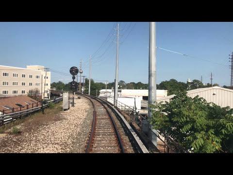 RARE! 4K LIRR: M3 Front Window Jamaica to WEST HEMPSTEAD