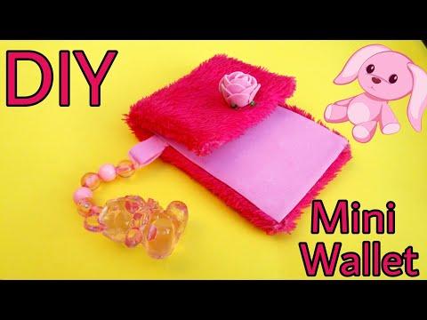 DIY Cute mini Wallet || Coin & Money Purse || Fur Purse || The Blue Sea Art