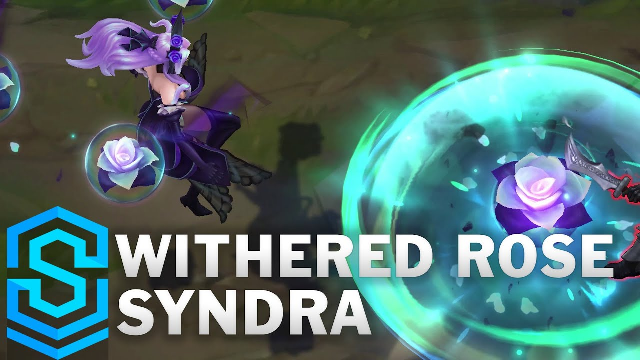 Withered Rose Syndra Skin Spotlight - Pre-Release - League of Legends