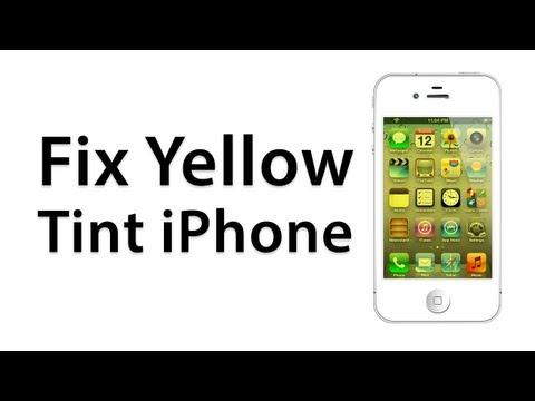 [How To] Fix A Yellow Screen On An iPhone - Calibrate Screen -  (Jailbreak Cydia Tweak)