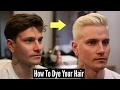 How To Dye Your Hair Platinum Blonde - Mens Hair Tutorial 2018