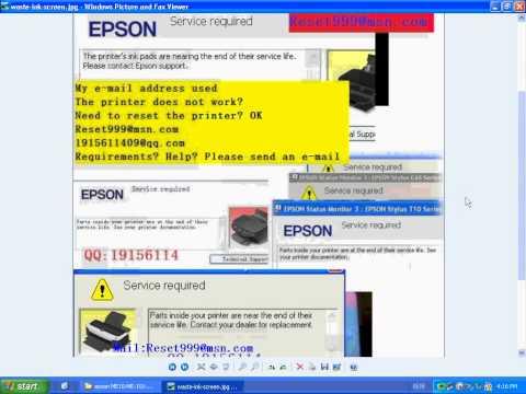 epson RX595 resetter RX600X620RX630  RX610RX615 RRX640 RX650