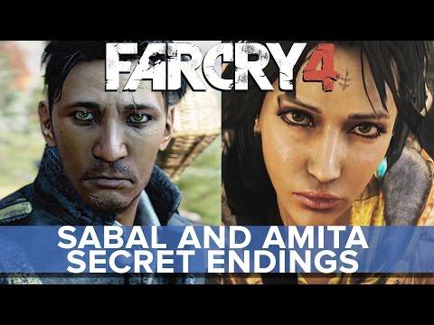 Far Cry 4 - Sabal and Amita SECRET Endings - Eurogamer
