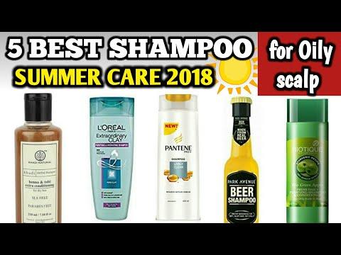 Best 5 shampoo for oily scalp |Summer hair care for oily scalp |Shampoo for oily hair in summer 2018
