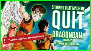 Download 5 THINGS THAT MADE ME QUIT DRAGONBALL (ALMOST) | MasakoX Video