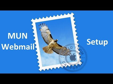 How to add MUN Webmail account to MacMail