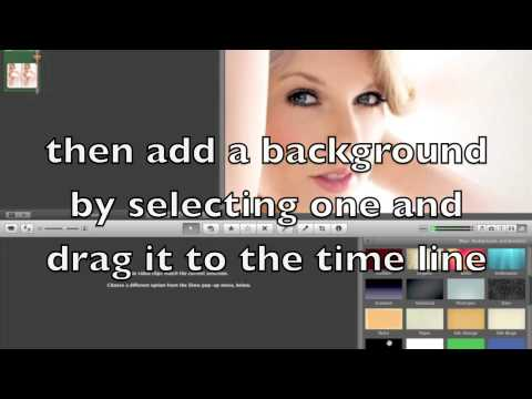 Tutorial on how to use Imovie to make a lyrics video (Part 1)