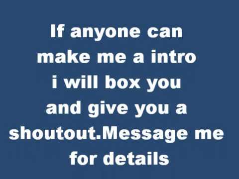 Intro help