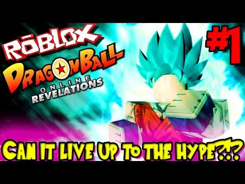 CAN IT LIVE UP TO THE HYPE?!? | Roblox: Dragon Ball Online Revelations (Stress Test) - Episode 1