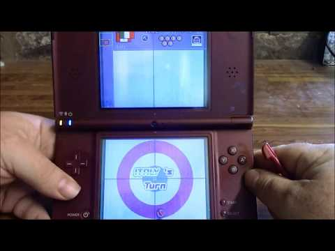 Hillovision plays Nintendo DS: Curling DS and review