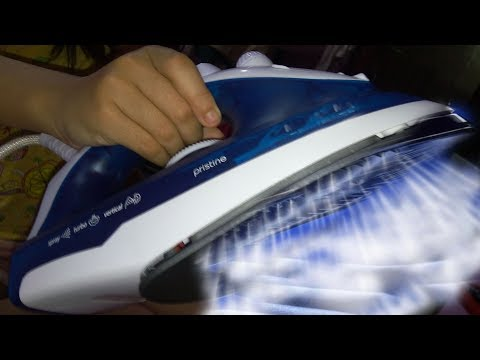 How to use a steam iron properly without water leakage & clean it using self-clean method