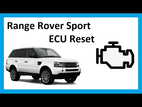 How to do an ECU reset on Range Rover Sport 2005
