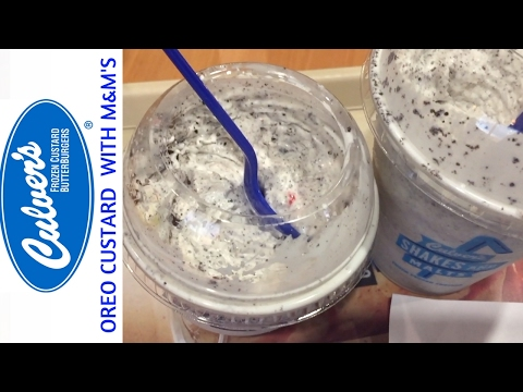 Oreo Mini Concrete Mixer  - Strawberry  Mini Concrete Mixer with Pecans - Culver's!!