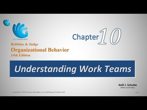 Understanding Work Teams | Organizational Behavior (Chapter 10)