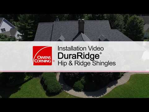 Roofing Installation Guide: DuraRidge® Hip & Ridge Shingles