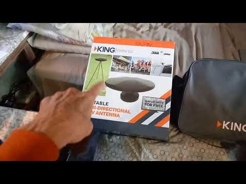 PORTABLE OVER THE AIR HD TV ANTENNA FREE HD TV...part 2 of 2...