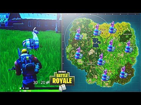 How To Find Supply Llamas in Fortnite! Supply Llama Spawn Locations! (Fortnite Battle Royale)